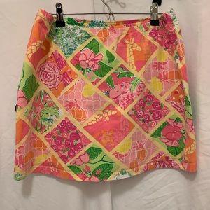 Lilly Pulitzer bathing suit skirt, size medium